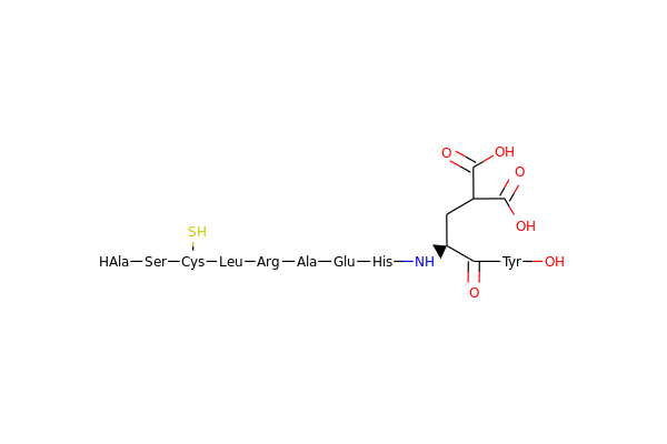 Condensed Structure with modified amino acid