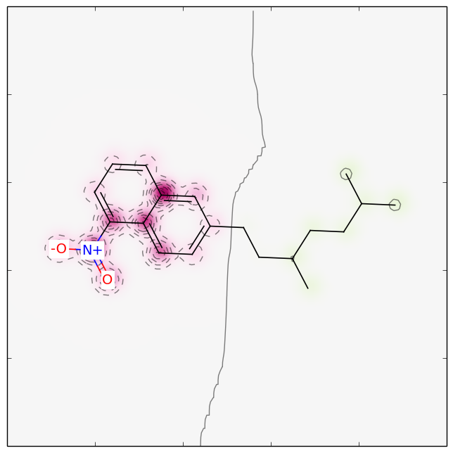 Molecule marked partly mutagenic.